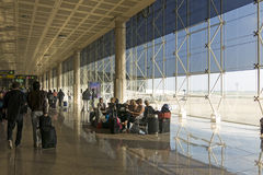 Barcelona International Airport interior. Airport if one of the Royalty Free Stock Images