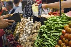 Barcelona jedzenia rynek Zdjęcie Stock