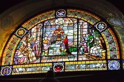 25 Barcelona-JULI Expiatory Kerk van het Heilige Hart van Jesus (Expiatori del Sagrat Cor) op 25 Juli, 2009. Royalty-vrije Stock Afbeelding