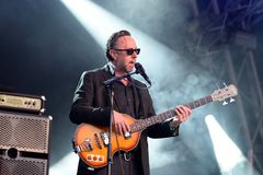 Richard Hawley band perform in concert at Primavera Sound 2016 Royalty Free Stock Images