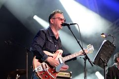 Richard Hawley band perform in concert at Primavera Sound 2016 Royalty Free Stock Photography