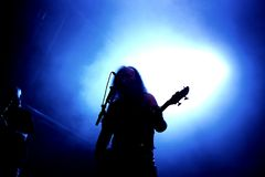 Venom hard rock metal band perform in concert at Primavera Sound 2016 Royalty Free Stock Image