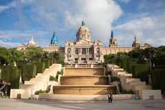 National Art Museum of Catalonia royalty free stock photos