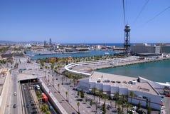 Barcelona-Kanal Lizenzfreie Stockbilder