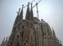 Barcelona-Kathedrale Stockfotos