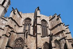Barcelona-Kathedrale, Catalunya stockfotografie