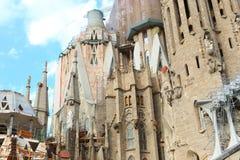Barcelona-Kathedrale - Spanien Stockfotografie