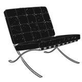 barcelona krzesło Obraz Royalty Free