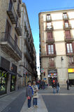 Barcelona kwadrat Obraz Royalty Free