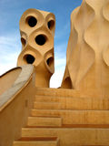 Barcelona, La Pedrera 15 Royalty Free Stock Photography