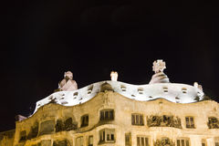 Barcelona. La Pedrera Stock Photos
