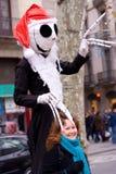 barcelona la rambla spain royaltyfri fotografi