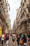 Barcelona- La Rambla Stock Photo