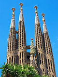 Barcelona - La Sagrada Familia Stock Images