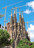 Barcelona - La Sagrada Familia Stock Photo