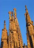 Barcelona La Sagrada Familia Stock Images