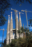 Barcelona, La Sagrada Familia Royalty Free Stock Photos