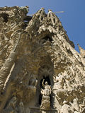 Barcelona - La Sagrada Familia Royalty Free Stock Images
