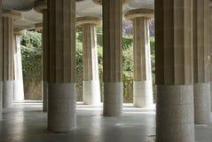 Barcelona landmark - Park Guel Royalty Free Stock Photos