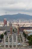 Barcelona Landscape Stock Images