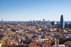 Barcelona landscape Stock Photos