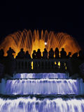 Barcelona Magic Fountain Royalty Free Stock Photos