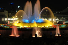 Barcelona, The Magic Fountain Royalty Free Stock Images