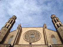 barcelona maria santa Стоковые Изображения RF