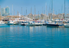Barcelona Marina Royalty Free Stock Images
