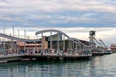 barcelona marina Obrazy Stock