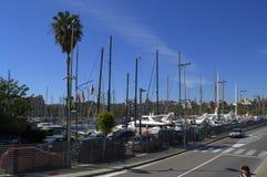 Barcelona marina Royalty Free Stock Image