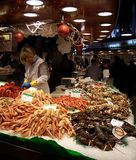 Barcelona market, Spain Stock Photo