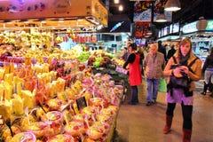 Barcelona market Royalty Free Stock Images