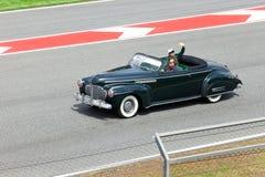 BARCELONA- MAY 9:Jarno Trulli of Lotus-Cosworth Stock Image