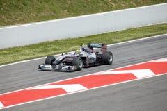 BARCELONA- MAY 9: Nico Rosberg  of  Mercedes GP Stock Photography