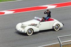 BARCELONA- MAY 9: Timo Glock of Virgin-Cosworth  o Royalty Free Stock Photography