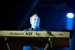 Orchestral Manoeuvres in the Dark, also known as OMD,  band in concert at Primavera Sound 2015 Stock Images