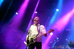 Orchestral Manoeuvres in the Dark, also known as OMD,  band in concert at Primavera Sound 2015 Stock Image