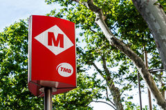 Barcelona Metro Stock Photography