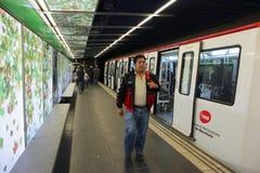 Barcelona Metro Royalty Free Stock Image