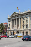Barcelona Military Building Stock Images