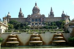 Barcelona - MNAC National Museum Royalty Free Stock Images