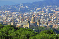 Barcelona MNAC Stock Photos