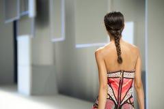 080 BARCELONA moda - CUSTO BARCELONA wybieg Zdjęcie Stock