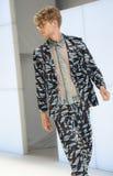 080 BARCELONA moda - CUSTO BARCELONA wybieg Obrazy Stock
