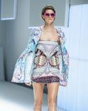 080 BARCELONA moda - CUSTO BARCELONA wybieg Obrazy Royalty Free