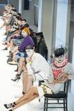 080 BARCELONA moda - mózg & bestii wybieg Fotografia Royalty Free