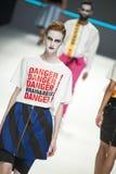 080 BARCELONA moda - mózg & bestii wybieg Zdjęcie Royalty Free