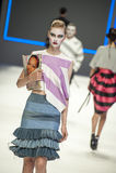 080 BARCELONA moda - mózg & bestii wybieg Zdjęcia Royalty Free