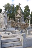Barcelona Montjuic Cemetery Stock Images
